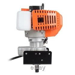 2.2HP Gas Powered Post Hole Digger with 8 Earth Auger 52CC Power Engine USA
