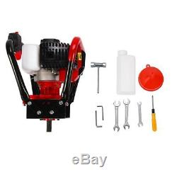 2.3HP 56CC Gas Powered Post Hole Digger with 4 6 8 Earth Auger Digging Engine