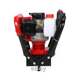 2.3HP Gas Power One Man Post Hole Digger 6 10 Auger Shock Absorber Extension