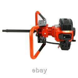 2.85HP Post Hole Digger 52CC Gas Powered Earth Auger Borer Fence Drill New