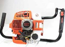 49cc 2.3HP Gas Powered Earth Post Hole Ice Digger with250mm x 30 Earth Auger Bit