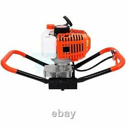 52CC 2.5HP Post Hole Digger Handles Gas Powered Auger Earth drills Borer Machine