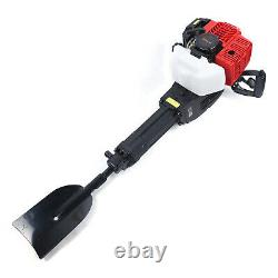 52CC 2 Stroke Post Hole Digger Gas Powered Earth Auger Borer Fence Ground 1900W