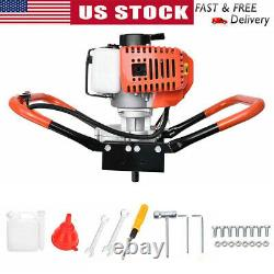 52CC 8500rpm 1.9Kw Earth Auger Powerhead Gasoline Power Post Hole Digger Machine