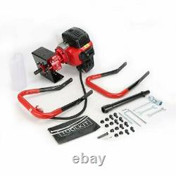 52CC Earth Auger 2100W 2.85HP Gas Powered One Man Post Hole Digger Machine US