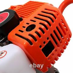 52 CC 2.5 HP Gas Powered Earth Auger Power Engine Post Hole Digger Borer Machine