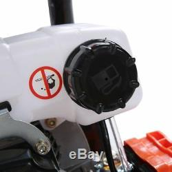 52cc 2.3HP Powered Gas Post Hole Digger Earth Digger Auger With 8 Bits Drill FH