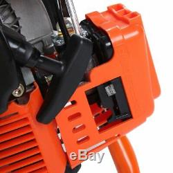 52cc 2.3HP Powered Gas Post Hole Digger Earth Digger Auger With 8 Bits Drill VP