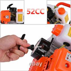 52cc 2.5HP Earth Auger 3HP Gas Powered One Man Post Hole Digger Machine 40-250MM