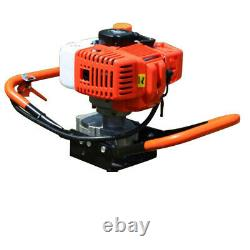 52cc 2 Stroke Post Hole Digger Petrol Earth Auger Drill Garden Power Machine