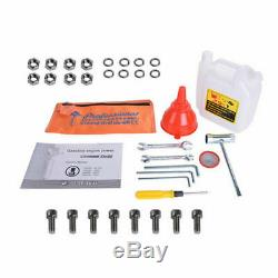52cc Gas Power Earth One Man Post Fence Hole Digger Drill Bits 4 6 8 10 NEW