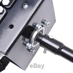 52cc Gas Powered Earth Auger Power Engine Post Hole Digger+3 Drill Bit Ground