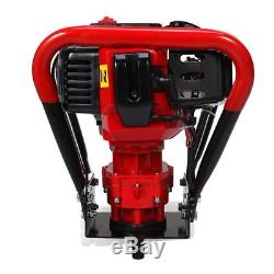 56CC 2.3HP Power Engine 2 Stroke Gas One Man Post Hole Digger 6+10 Auger Drill