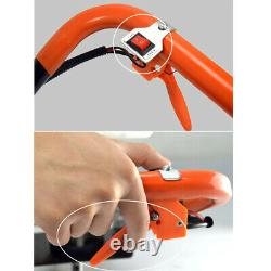 71CC 2 Stroke Gas Powered Post Hole Digger Auger Borer Fence Drill Bit Lock