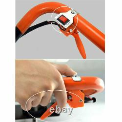 71cc Gas Powered Earth Auger Post Hole Digger + Drill Bits 4 6 8+12 Bar New