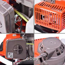 72CC 4HP Gas Powered Post Hole Digger With 4 8 12 Earth Auger Digging Engine