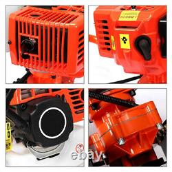 72CC 4HP Gas Powered Post Hole Digger with 4 8 12 3Bits Power Engine