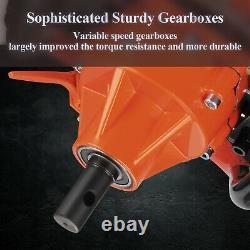 72CC Power Spiral Plant Auger Earth Planter Powerhead Bit Post Hole Digger Tool