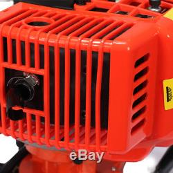72cc Power Engine 4HP Gas Powered One Man Post Hole Digger & 3 Bits 3 Extensions