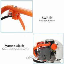 ECO 2.2HP 52cc Power Engine Gas Powered One Man Post Hole Digger 8 Auger Bits
