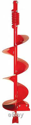 Earth Auger Gas Engine Powered Post Hole Digger Fence Drill Earthquake 8 in. W