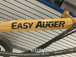 Easy Auger Towable Post Hole Digger with 4 Augers and 3ft Extension Honda Powered