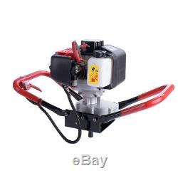 Fits 6 10 Bit 52CC Gas Powered Earth Fence Auger Head Post Hole Digger Machine