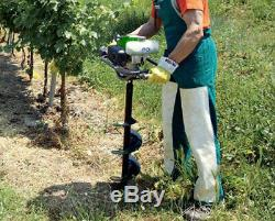 Gas Powered Post Hole Digger Tatra Garden EA 200 Auger Earth drills