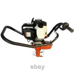 General M240H One Man Gas Power Post Hole Digger Honda Engine with 8-inch Auger