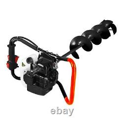 NEW 8 Gas Powered Eskimo Ice Fishing Hole Auger Drill Fence Post TMG Industrial