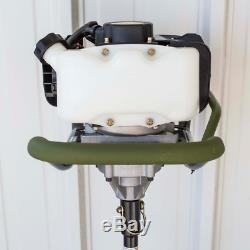 New Gas Powered Post Hole Digger Earth Auger Drills Holes 6 in. Wide 34 in. Deep