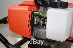 One Man Post Ice Hole Digger Drill 52cc Gas Power Engine Head 2/stroke