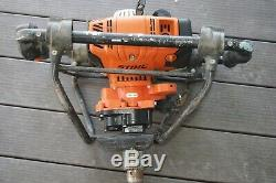 Stihl BT 131 Earth Ice Dirt Planting Post Hole Power Auger BT131 4 mix 4 Stroke