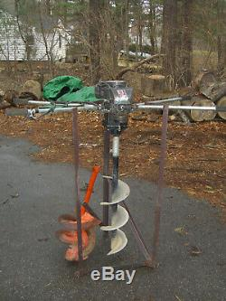Two Man Gas Power Fence Post Hole Drill / Digger / Earth Auger