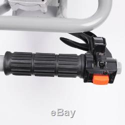 VI 63cc Gas Power Earth Auger Post Fence Hole Digger Ground Borer Drill Machine