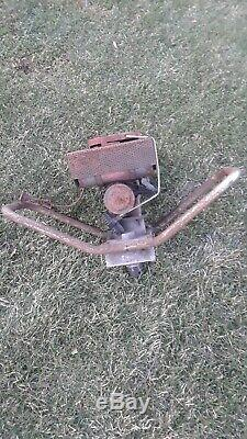 Vintage General Portable Power Drill, Post Hole Digger With Clinton Engine