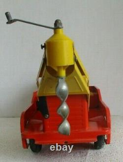 Vintage Nylint Ford Power & Light Co. Post Hole Digger Truck