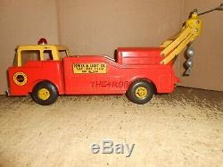 Vintage Nylint Power & Light Co Post Hole Digger Truck